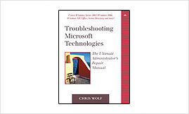 Troubleshooting Microsoft Technologies Book